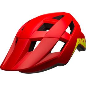 Bell Spark MIPS Cykelhjelm Børn, matte/gloss red/hi-vis